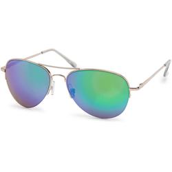 styleBREAKER Sonnenbrille Verspiegelte Piloten Sonnenbrille Verspiegelt goldfarben