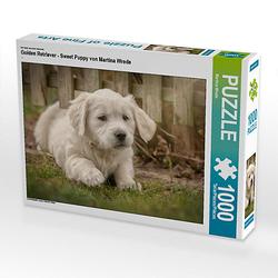 Golden Retriever - Sweet Puppy von Martina Wrede Lege-Größe 64 x 48 cm Foto-Puzzle Bild von Martina Wrede Puzzle