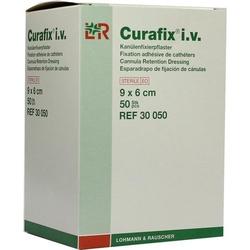 CURAFIX i.v. steril Pflaster 6x9 cm 50 St