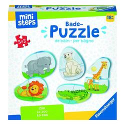 Ravensburger Puzzle ministeps Zoo Badewanne, Puzzleteile