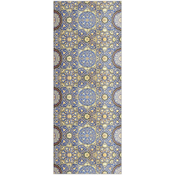 MySpotti Spritzschutz fresh F1 Arabesque Fliese, 100 x 255 cm