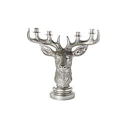 Kerzenhalter Hirschkopf