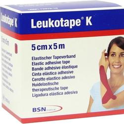 Leukotape K 5cm rot