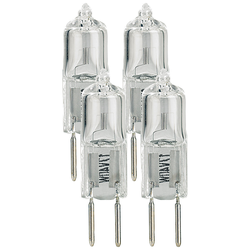 Halogen-Stiftsockellampe 12 Volt, GY6.35, 40 Watt, 4er-Pack