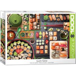 empireposter Puzzle Sushi - Japanische Köstlichkeiten - 1000 Teile Puzzle im Format 68x48 cm, 1000 Puzzleteile