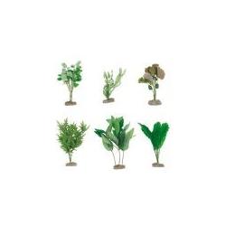 Aquarienpflanzen Seide für die Hintergrunddeko sehr Naturgetreu