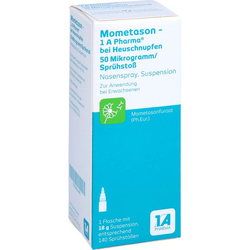 MOMETASON 1A Phar.b.Heuschnupfen 50µg/Spr.Stoß 140 18 g