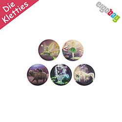 ergobag Klettie-Set Feenwelt, 5 tlgs Kletties-Set zum wechseln