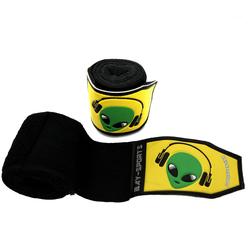 BAY-Sports Boxbandagen Alien 3D Kinder Box-Bandagen Handbandagen Boxen