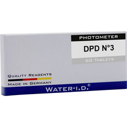 Water ID 50 Tabletten DPD N°3 für PoolLAB Tabletten