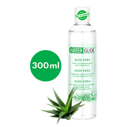Waterglide 300 ml Gleitmittel 'Aloe Vera' für zarte Haut