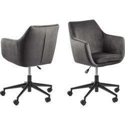 Bürostuhl Noel dunkelgrau Drehstuhl Schreibtischstuhl Chefsessel Sessel Stuhl