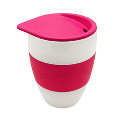 KOZIOL Coffee-to-go-Becher TASSIMO Aromabecher To Go Pink