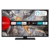 JVC LED-Fernseher (50 Zoll, UHD, DVB-T2 HD, SmartTV, Bluetooth, HDR) LT-50V65LUA schwarz