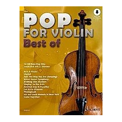 Pop for Violin - Best of  1-2 Violinen - Buch