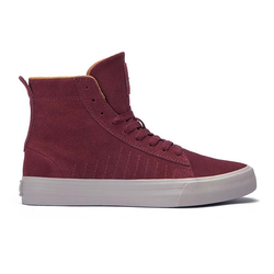 Schuhe SUPRA - Belmont High Port-Bone (PRT)