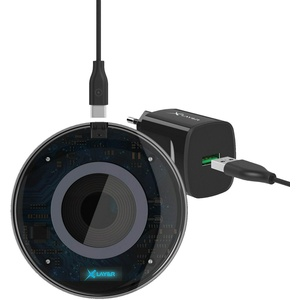 Xlayer qi-Lader 10W +USB-Steckerlader
