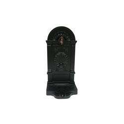 HTI-Line Dekoobjekt Wandbrunnen Siena (1 Stück), Wandbrunnen schwarz