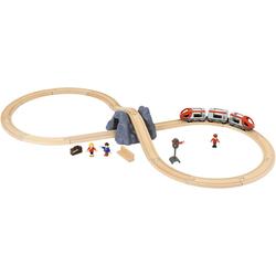 BRIO® Spielzeugeisenbahn-Set Eisenbahn Starter Set A