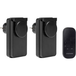 Smartwares SH4-99650 Funk Steckdosen-Set Außenbereich 1000W
