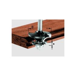 Festool Konterprofilfräser HW Schaft 8 mm D 43 mm NL 21 mm A/KL 491129 Fräser