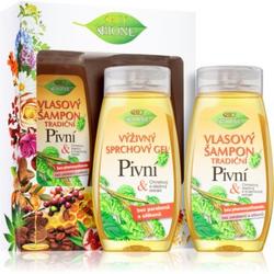 Bione Cosmetics Pivní Geschenkset (für die Dusche)