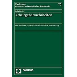 Arbeitgebermehrheiten. Julia König  - Buch