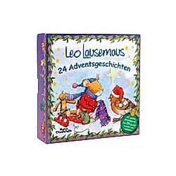 Leo Lausemaus Adventsbox mit 24 Adventsgeschichten
