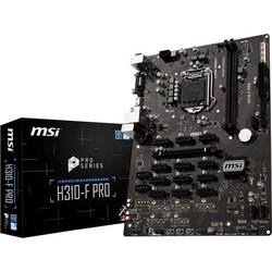 MSI H310-F PRO Mainboard Sockel Intel® 1151v2 Formfaktor ATX Mainboard-Chipsatz Intel® H310