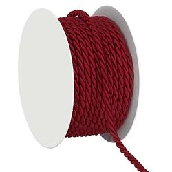 Kordel, weinrot, 4 mm, 10 m