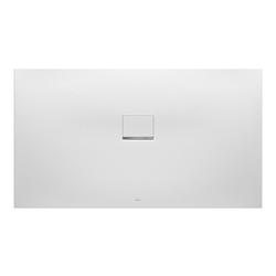 Villeroy & Boch Squaro Infinity Duschwanne Quaryl® 180 x 100 x 4 cm… Grau (matt)