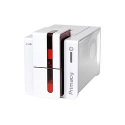 Primacy - Einseitiger Farb-Kartendrucker mit USB und Ethernetanschluss, rot