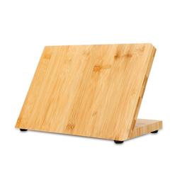 Intirilife Magnet-Messerblock Intirilife Magnetisches Messerbrett in BAMBUS BRAUN – Holz Messerblock aus Bambus mit Magnet, Magnetisches Messerbrett Holz Messerblock