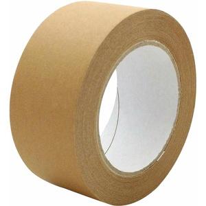 1-PACK Papierklebeband PR-210 Papierband mit Naturkautschukkleber 50mm braun