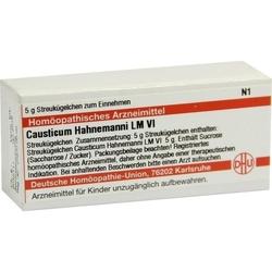 LM CAUSTICUM Hahnemanni VI Globuli 5 g
