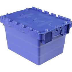 VISO DSW 4325 Klappdeckelbox (B x H x T) 400 x 250 x 300mm Blau 1St.