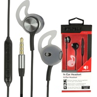 Fontastic Headset In-Ear Stereo-Headset V415 3,5 mm schwarz