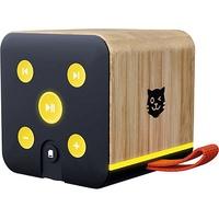 Lenco Tigerbox - Bambus-Edition schwarz
