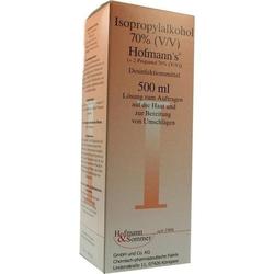 ISOPROPYLALKOHOL 70% V/V Hofmann's 500 ml