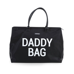 CHILDHOME Wickeltasche Wickeltasche Daddy Bag, schwarz