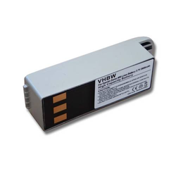 vhbw Li-Ion Akku 2600mAh (3.7V) für Navigation, GPS Garmin Zumo 400, Zumo 450, Zumo 500, Zumo 500 Deluxe, Zumo 550 wie 010-10863-00, 011-01451-00.