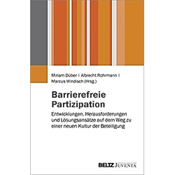 Barrierefreie Partizipation - Buch
