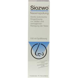 SIOZWO Nasenspülung Konservierungsstofffrei 100 ml