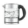 SAGE SKE395CLR4EEU1 The Compact Kettle Pure Wasserkocher, Silber/Transparent