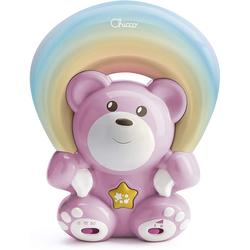 Chicco Pink Rainbow Bear Musikprojektor