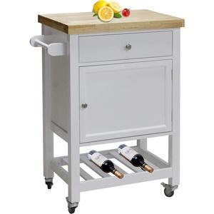 HTI-Line Küchenwagen Blanca M Servierwagen Geschirrwagen Beistelltisch Flurschrank Sideboard Kücheninsel