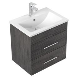Emotion Waschtisch Badmöbel Mars SlimLIne Waschbecken mit besonders schmaler Tiefe für Gästebad