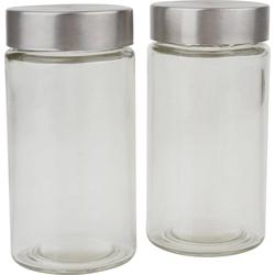 VBS Vorratsglas, Glas, 2 Stück, Füllmenge 200 ml