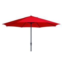 Madison SUMATRA Sonnenschirm Kurbelschirm Ø 400cm rund rot