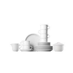 Thomas Porzellan Geschirr-Set Kaffeeservice 20-tlg. - TREND Weiß